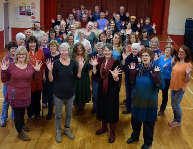 Traquair Choir will perform an eclectic programme of songs with a flavour of the Tweed Valley.