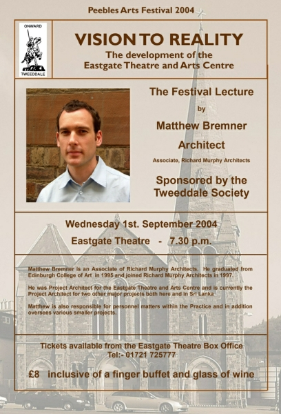 Festival Lecture poster 2004