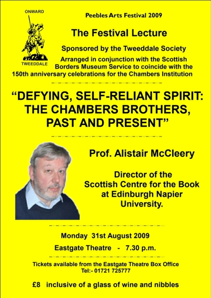 Festival Lecture poster 2009
