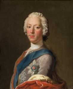 Prince Charles Edward Stuart by Allan Ramsay